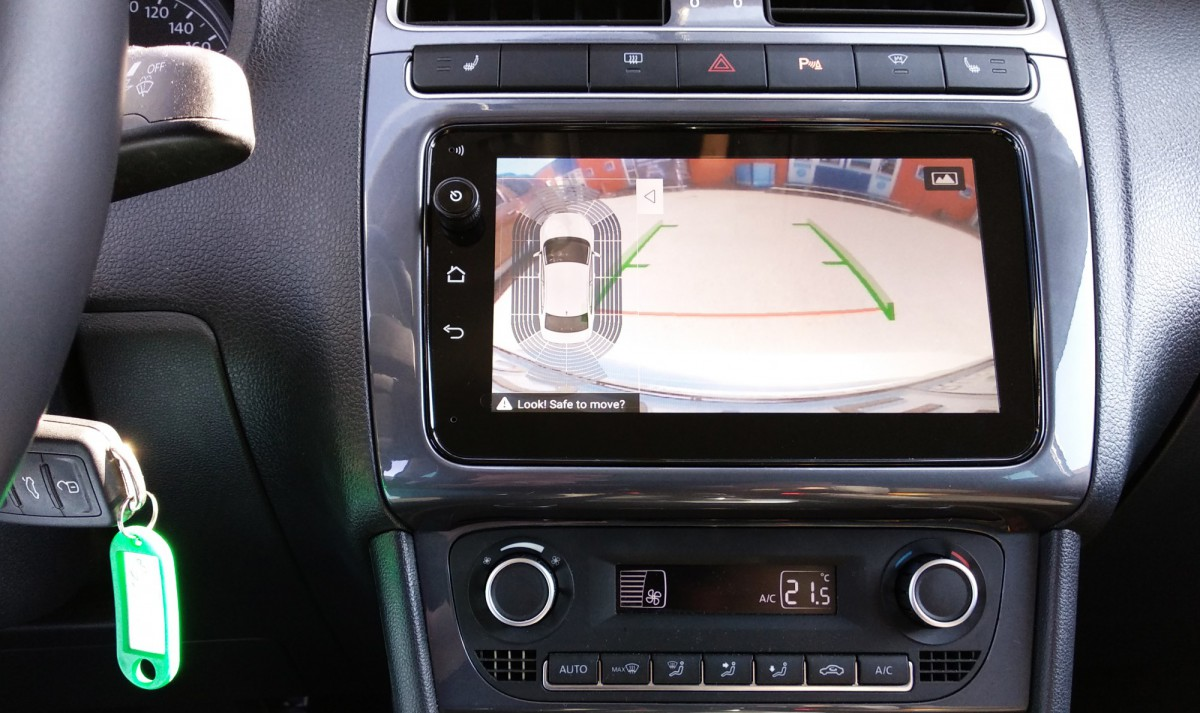 Штатная магнитола на Android MIB-887 VW, Skoda PQ Top 4G