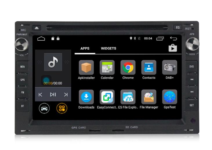 Штатная магнитола на Android MKD для VW Bora, Golf 4, Passat B5, Transporter 4, Skoda Octavia Tour