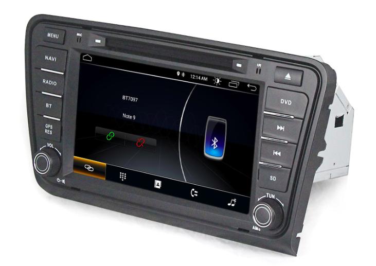 Штатная магнитола на Android MKD для Skoda Octavia A7