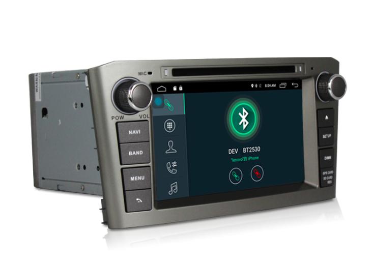 Штатная магнитола на Android MKD для Toyota Avensis II
