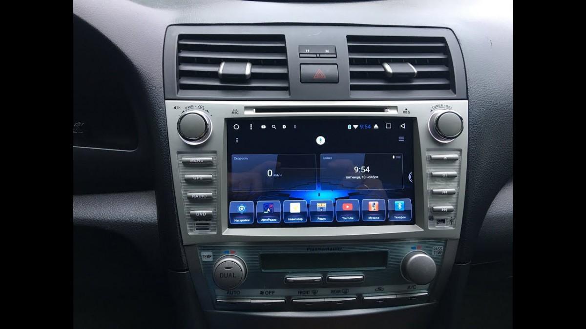 Штатная магнитола на Android MKD для Toyota Camry VI (XV40)