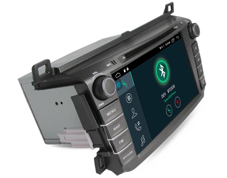 Штатная магнитола на Android MKD для Toyota RAV 4 IV (CA40)