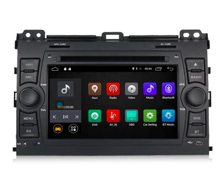 Штатная магнитола на Android MKD для Toyota Land Cruiser Prado 120