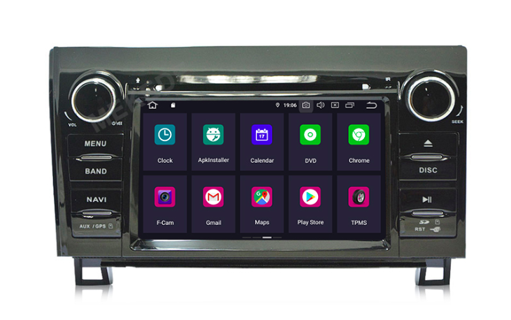 Штатная магнитола на Android MKD для Toyota Tundra II, Sequoia II