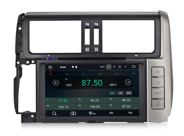 Штатная магнитола на Android MKD для Toyota Land Cruiser Prado 150