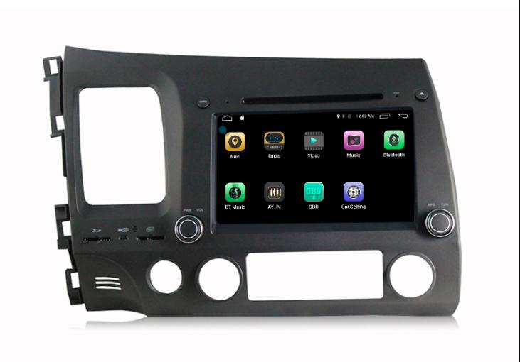 Штатная магнитола на Android MKD для Honda Civic VIII