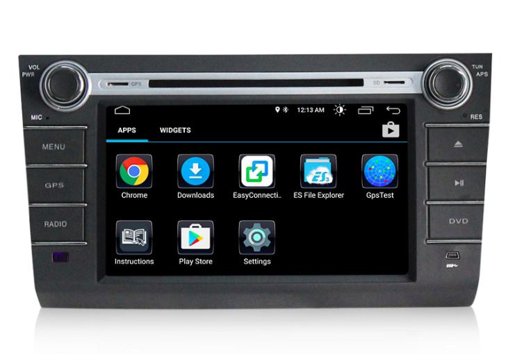 Штатная магнитола на Android MKD для Suzuki Swift III
