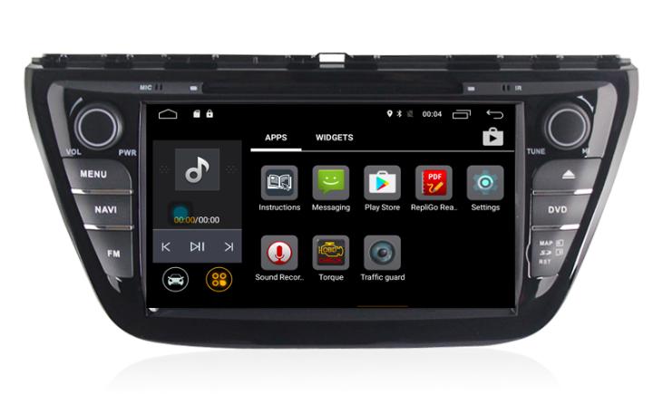 Штатная магнитола на Android MKD для Suzuki SX4 II S-Cross