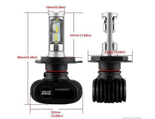 Светодиодные лампы Lightway S1 (H4 – ближний+дальний) - 5000K