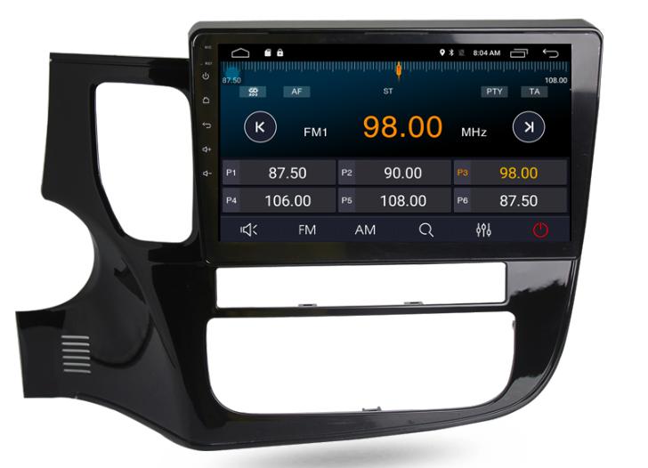 Штатная магнитола на Android MKD для Mitsubishi Outlander III рестайлинг