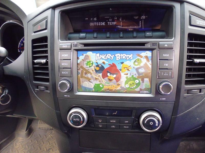 Штатная магнитола на Android MKD для Mitsubishi Pajero IV