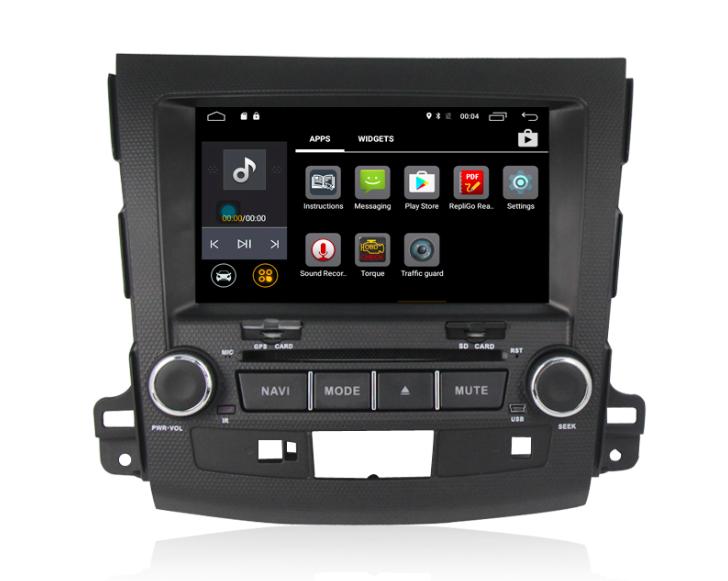 Штатная магнитола на Android MKD для Mitsubishi Outlander II
