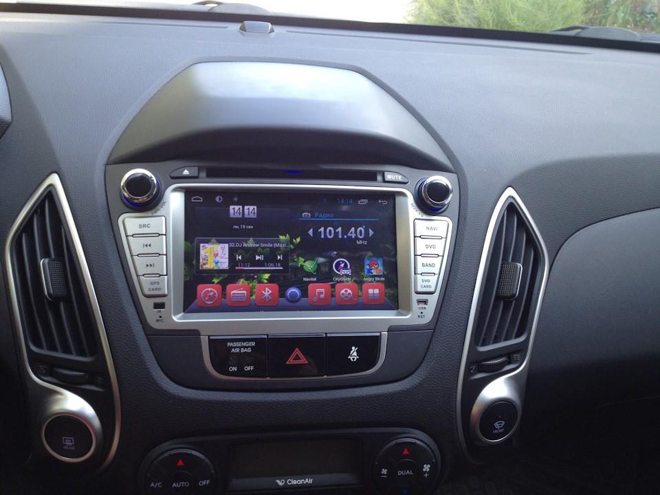 Штатная магнитола на Android MKD для Hyundai ix35