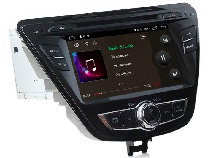 Штатная магнитола на Android MKD для Hyundai Elantra V (MD)