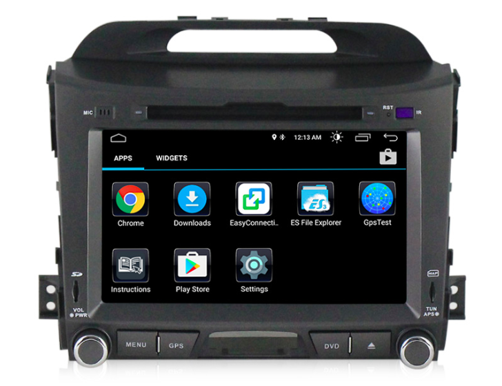 Штатная магнитола на Android MKD для Kia Sportage III
