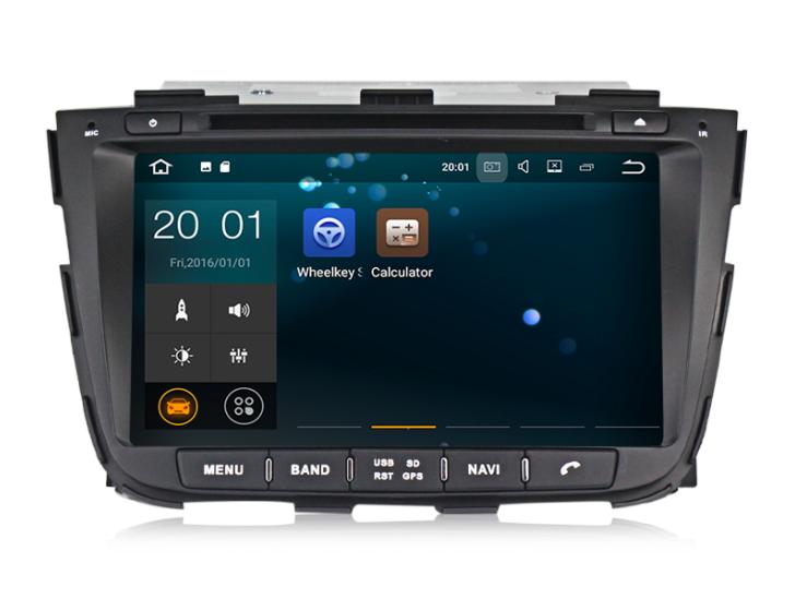 Штатная магнитола на Android MKD для Kia Sorento II рестайл