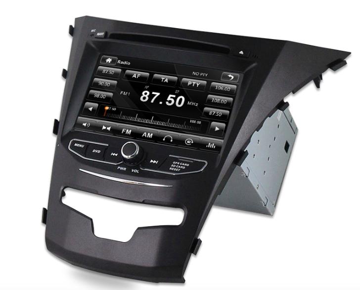 Штатная магнитола на Android MKD для SsangYong Actyon II Рестайл