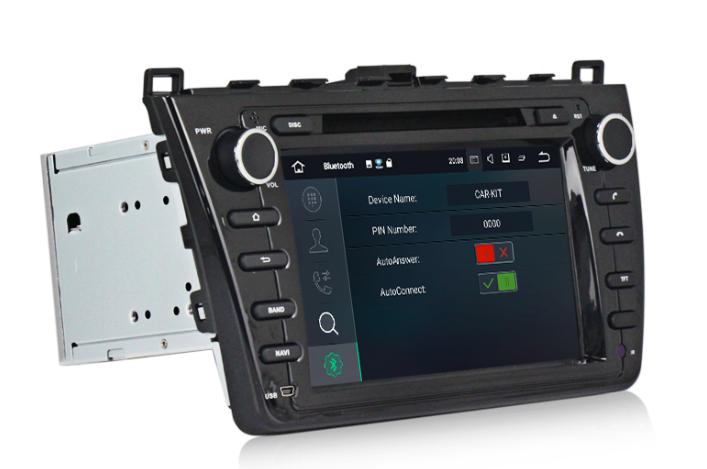 Штатная магнитола на Android MKD для Mazda 6 II (GH)