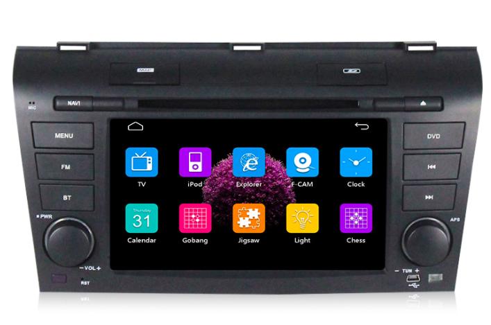 Штатная магнитола на Android MKD для Mazda 3 BK