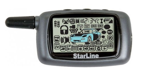 Брелок для сигнализации StarLine A6