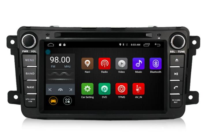 Штатная магнитола на Android MKD для Mazda CX-9
