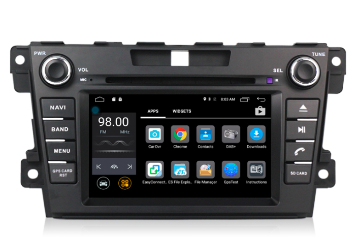 Штатная магнитола на Android MKD для Mazda CX-7