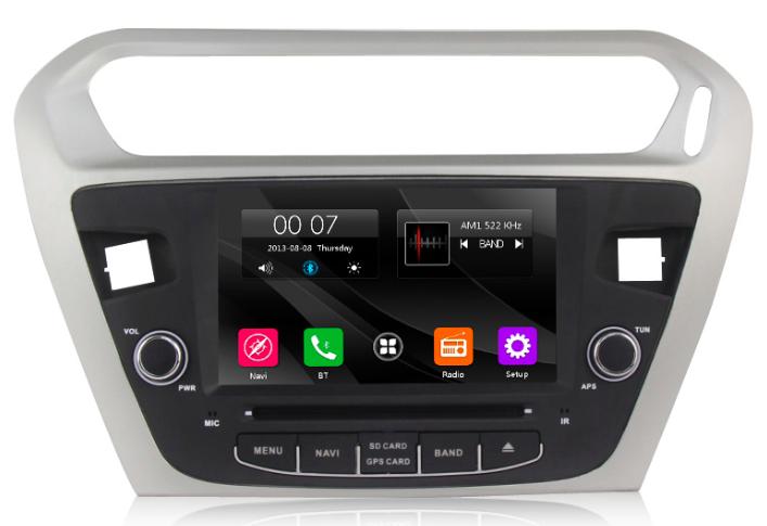 Штатная магнитола на Android MKD для Peugeot 301