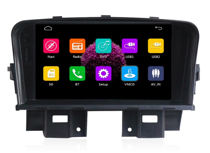Штатная магнитола на Android MKD для Chevrolet Cruze I дорестайл