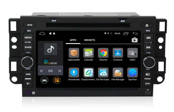 Штатная магнитола на Android MKD для Chevrolet Aveo I, Epica I, Captiva I, Spark II