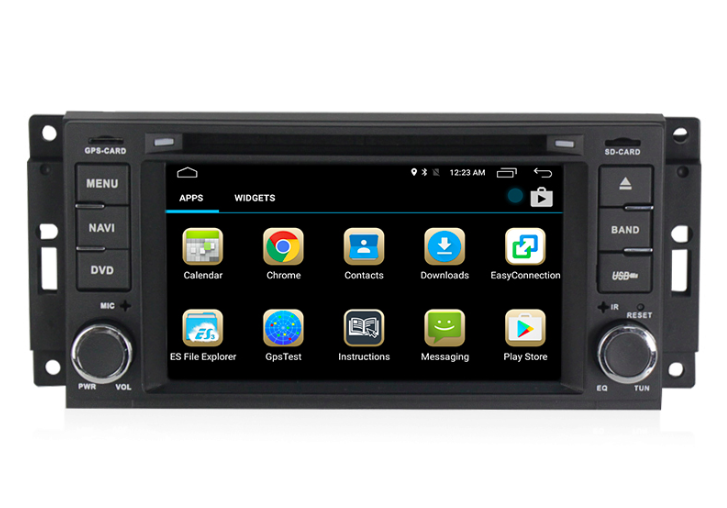 Штатная магнитола на Android MKD для Jeep Compass I Рестайл, Jeep Grand Cherokee III WK
