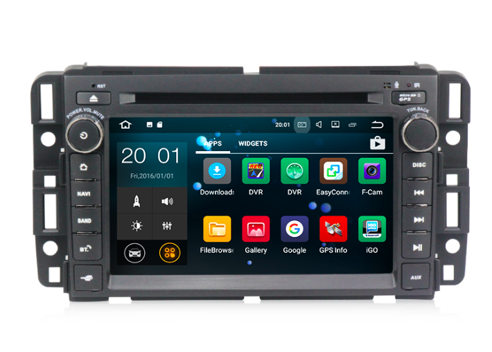 Штатная магнитола на Android MKD для Chevrolet Tahoe III
