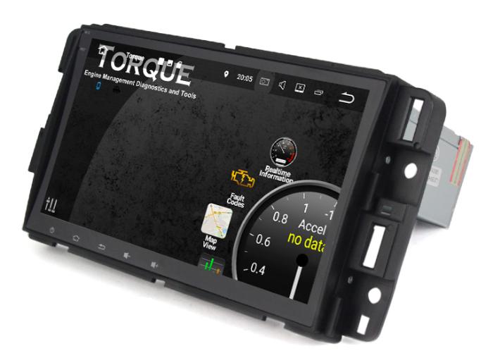 "Штатная магнитола на Android MKD для Chevrolet Tahoe III 8"""