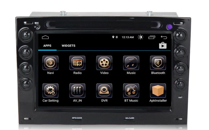 Штатная магнитола на Android MKD для Renault Megane II