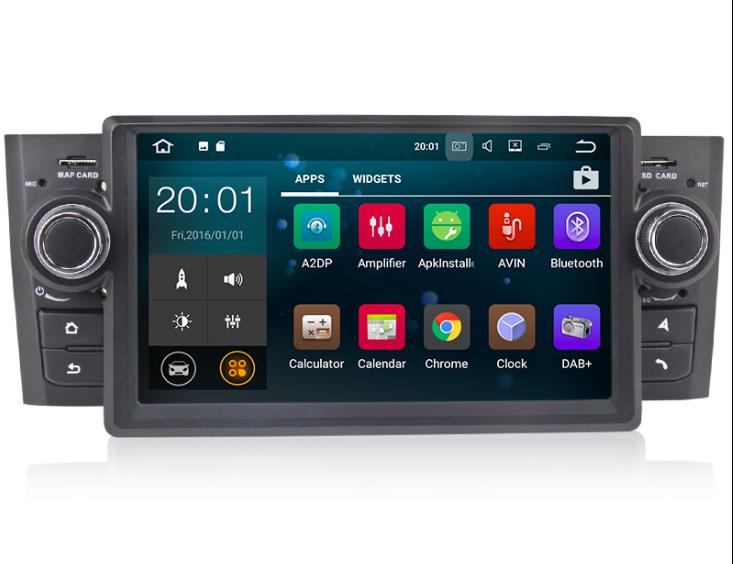 Штатная магнитола на Android MKD для Fiat Linea
