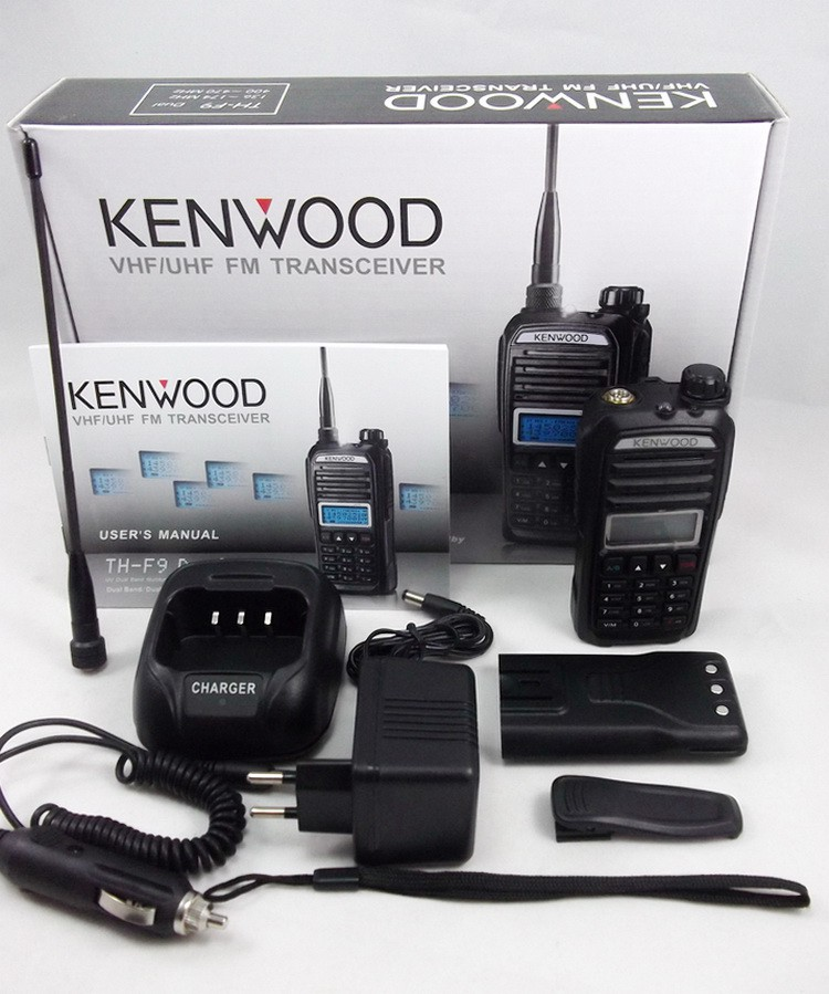 Рация Kenwood TH-F9 Dual Band