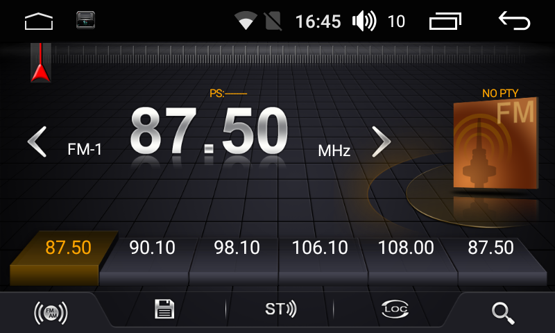 Штатная магнитола на Android для Chevrolet Cruze I дорестайл FarCar s175 (L045R)