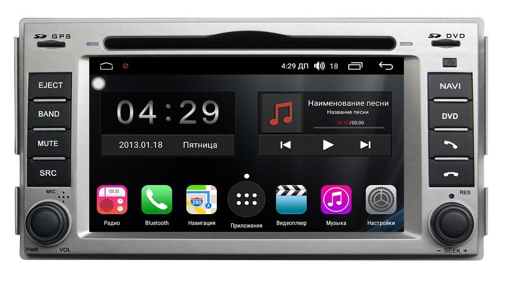 Штатная магнитола на Android для Hyundai Santa Fe II FarCar s300 (RL008)