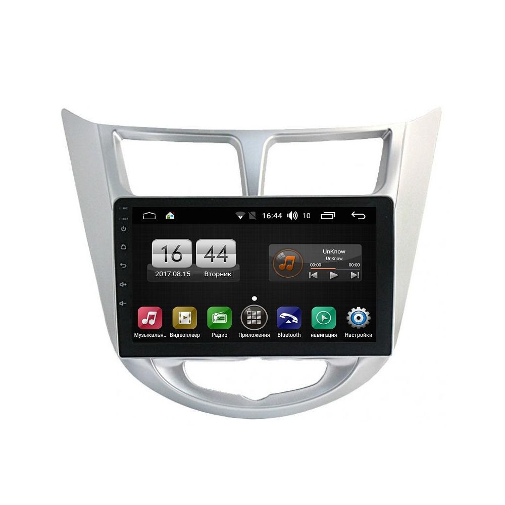 Штатная магнитола на Android для Hyundai Solaris I FarCar s175 (L067R)