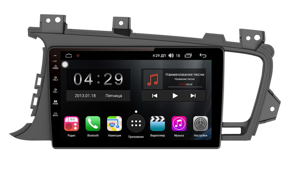 Штатная магнитола на Android для KIA Optima III FarCar s300 (RL091R)