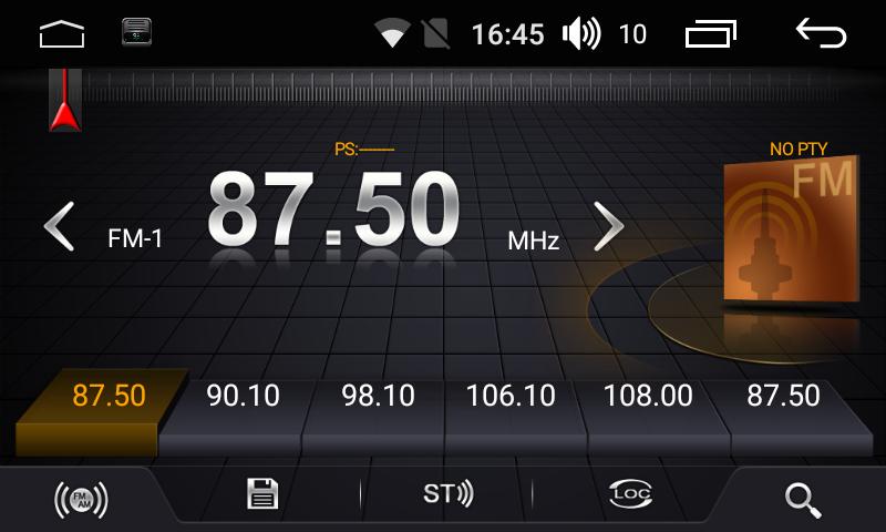 Штатная магнитола на Android для Mitsubishi Pajero Sport II, L200 IV FarCar s175 (L094R)