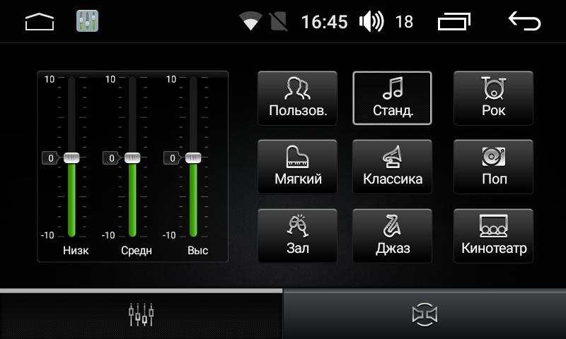 Штатная магнитола на Android для Toyota Corolla E160, E170 FarCar s170 (L307)