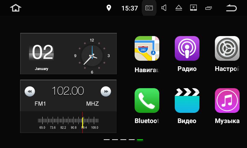 Штатная магнитола на Android для Toyota Land Cruiser 200 Рестайлинг 2 FarCar s130+ (W567BS)
