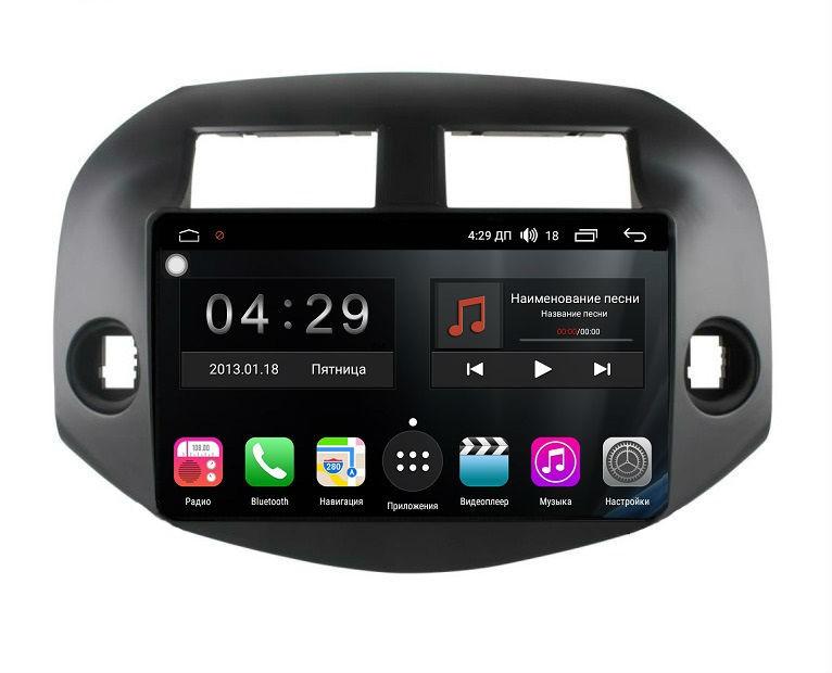 Штатная магнитола на Android для Toyota RAV 4 XA30 FarCar s300 (RL018R)
