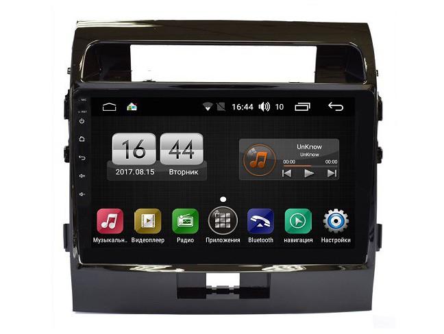 Штатная магнитола на Android для Toyota Land Cruiser 200 Рестайлинг 1 FarCar s175 (L381R)