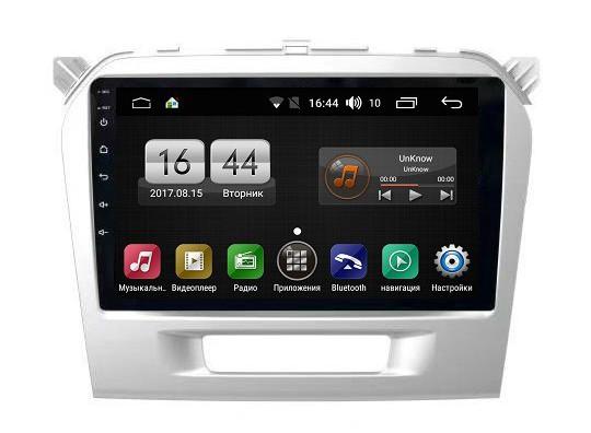 Штатная магнитола на Android для Suzuki Vitara II FarCar s175 (L212R)