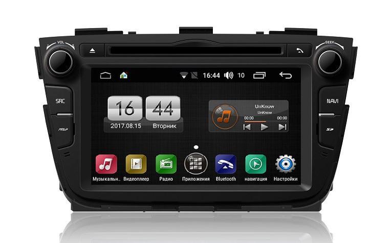 Штатная магнитола на Android для KIA Sorento II рестайлинг FarCar s170 (L224)
