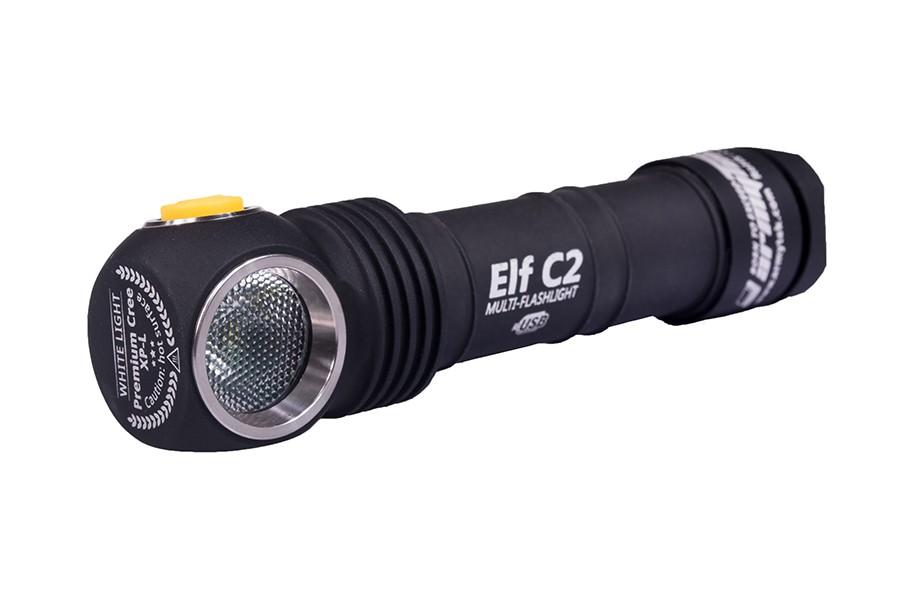 Мультифонарь Armytek Elf C2 Micro-USB+18650 XP-L
