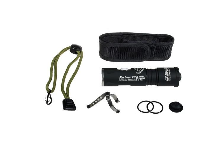 Тактический фонарь Armytek Partner C1 Pro v3 XP-L