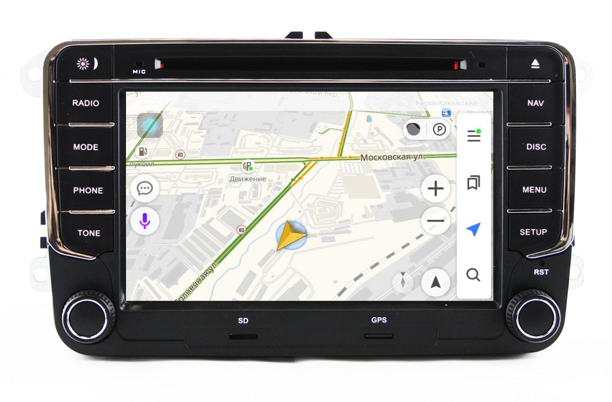 Штатная магнитола на Android для VW, Skoda PQ Original
