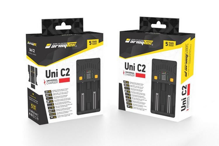 Универсальное 2-канальное З/У Armytek Uni C2